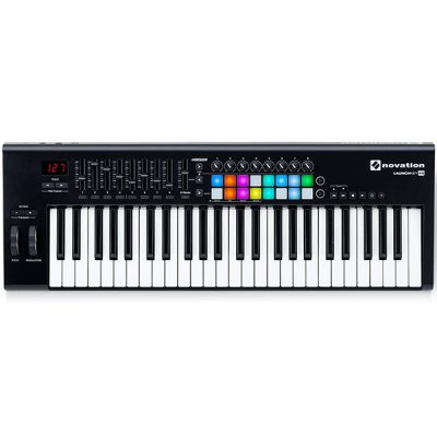 novation launch key 49 keyboard midi