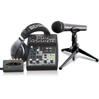 behringer podcastudio bundle