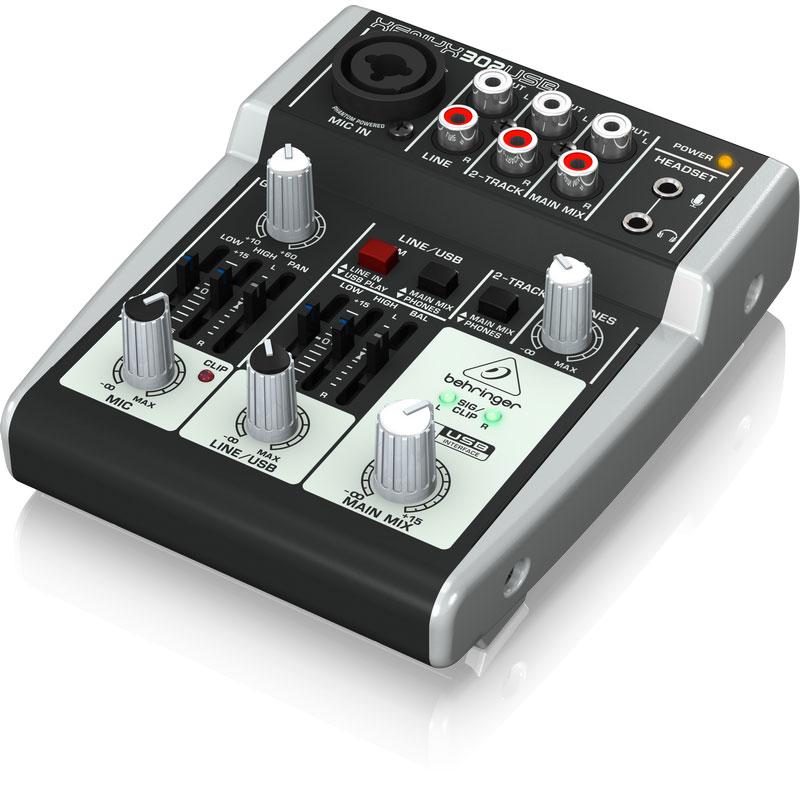 behringer xenyx 302usb tough audio. Black Bedroom Furniture Sets. Home Design Ideas