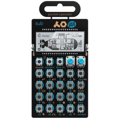 teenage engineering po 14 pocket operator sub synthesiser